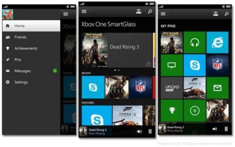 Xbox One Smart Glass App